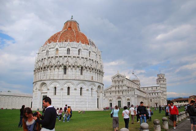 Qué hacer en Pisa en un día: el Baptisterio