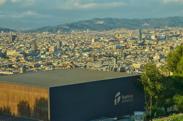 Las vistas desde Montjuïc