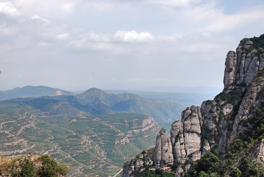 Las increíbles vistas desde Montserrat
