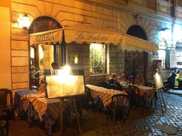 Dónde comer en Roma: La Scaletta