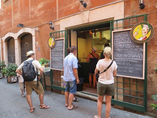 Dónde comer en Roma: Pasta imperiale