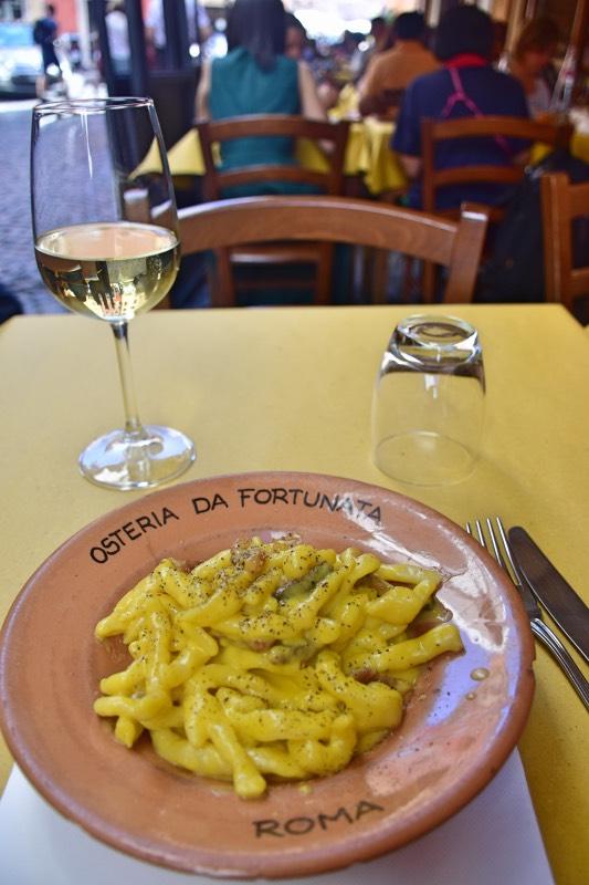 Dónde comer en Roma: Osteria da Fortunata