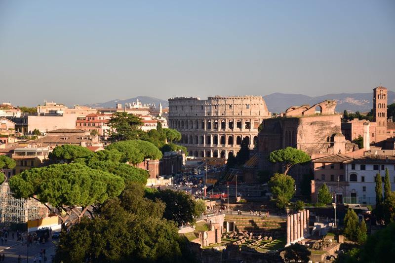 Otra perspectiva del Coliseo Romano