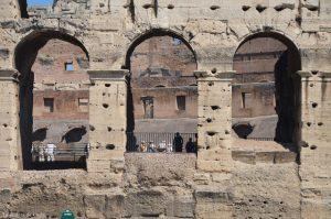 Detalles del Coliseo Romano