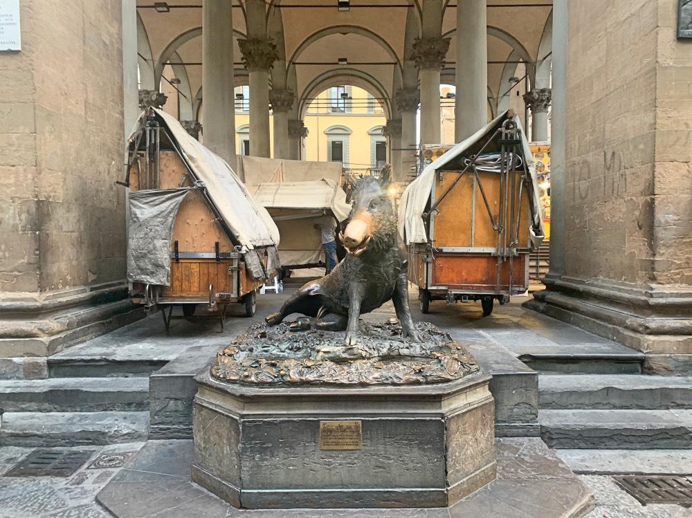 Experiencias gratis en Florencia: porcellino
