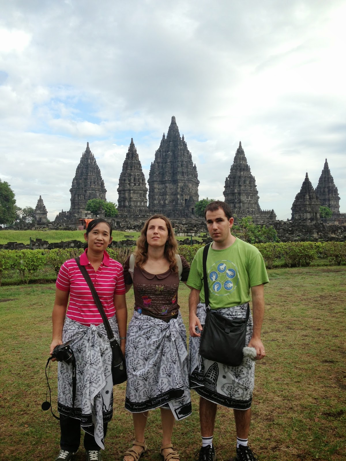 Viajar siendo ciegos: Núria y Juanjo en Indonesia