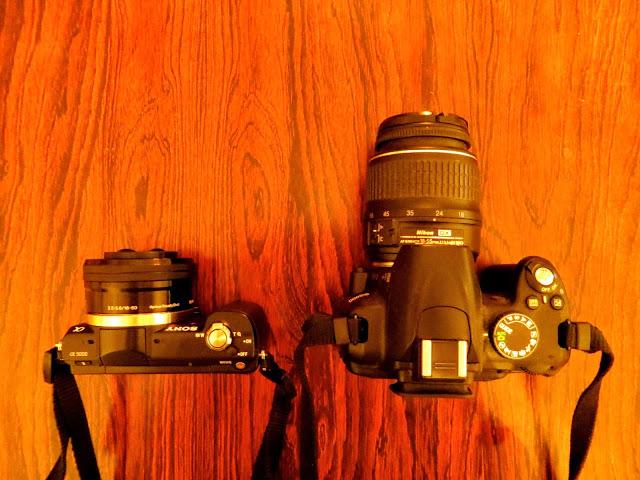 comparativa sony a5000 Nikon d5100