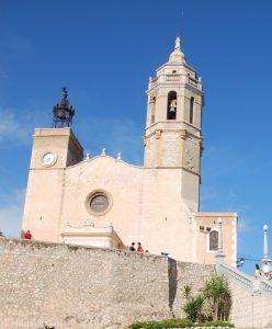 La Iglesia de Sitges es uno de los iconos de Sitges