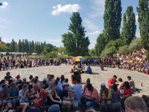 El Karaoke de Mauerpark en Berlín en 2018