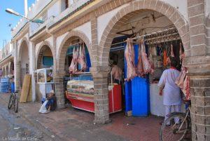 Un día en Essaouira: carne en la calle