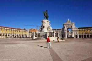 Qué hacer en Lisboa: visitar la Plaza del Comercio