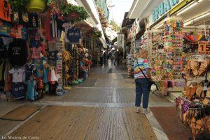 Qué hacer en Atenas: Calles turísticas alrededor de la plaza Monastiraki