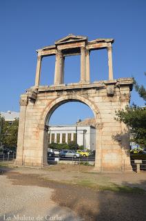 Qué hacer en Atenas: Arco de Adriano