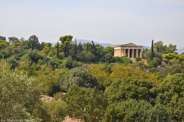Qué hacer en Atenas: El Ágora romana