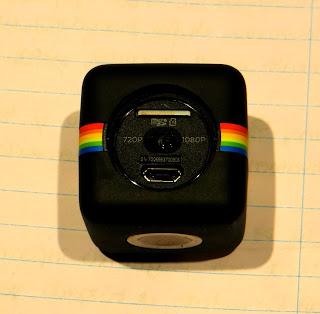 polaroid cube configuración botones