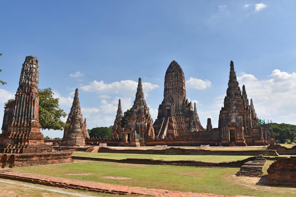 Ayutthaya en un día: estupas y prangs, las 'columnas' protagonistas de los templos en Ayutthaya