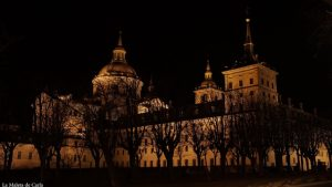 Un día en San Lorenzo del Escorial - Escorial nocturno