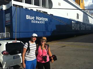 Cómo ir de Atenas a las Islas griegas en ferry
