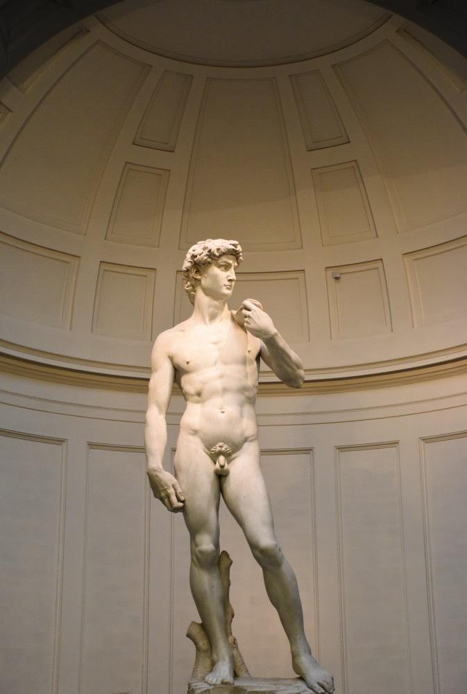 Preparativos para viajar a Florencia: La escultura de El David de Miguel Ángel