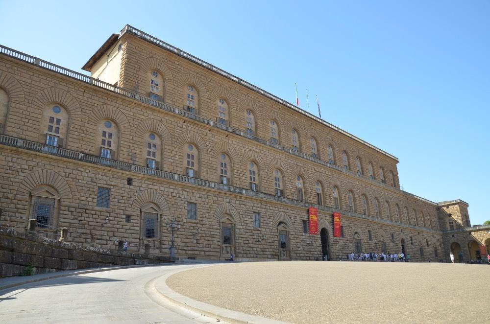 El imponente Palazzo Pitti, que fue residencia de los Médici