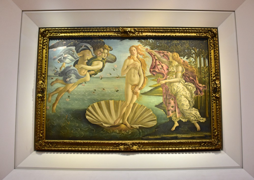 'El nacimiento de Venus', de Sandro Botticelli