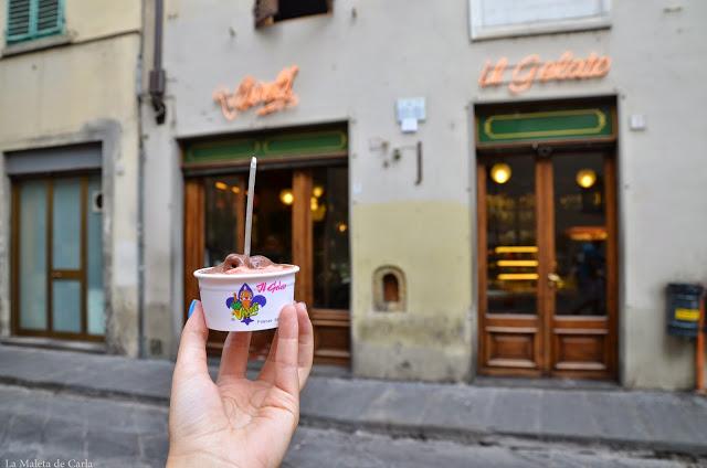 Qué hacer en Florencia: helado en Vívoli