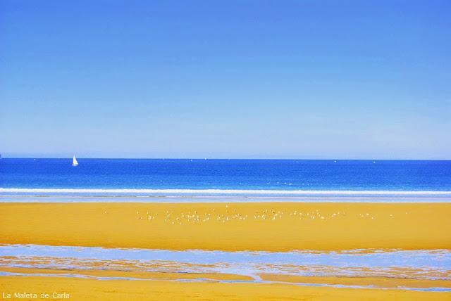 playa San Lorenzo Gijón Asturias