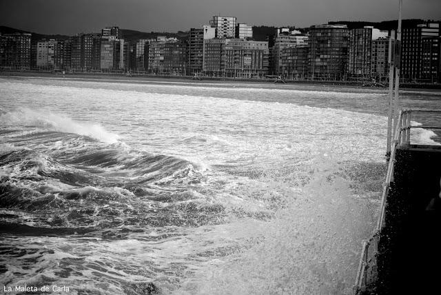 playa San Lorenzo Gijón Asturias 2