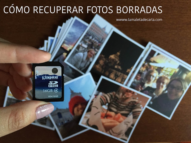 recuperar fotos borradas ordenador tarjeta sd