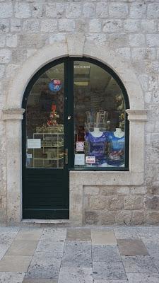 Curiosidades de Dubrovnik: Una puerta con forma de P