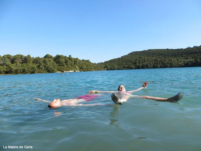 Relajados en Mljet, Croacia