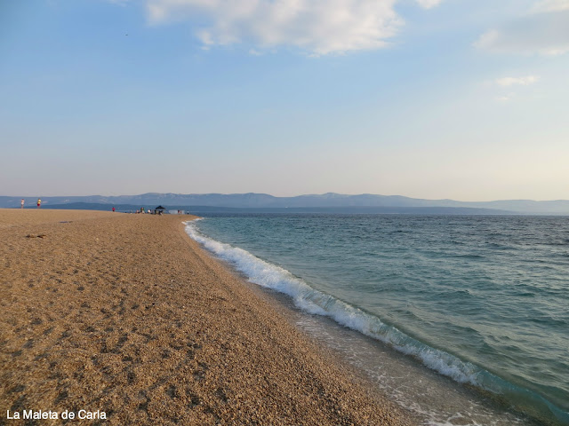 Dos días en Bol: playa de Zlatni Rat