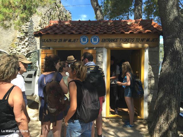 Parque Nacional de Mljet: venta de entradas al parque