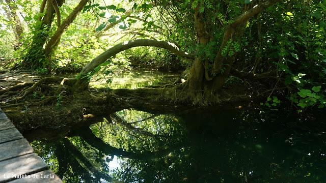 Rincones escondidos en el Parque Nacional de Krka