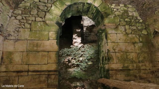 Qué ver en Split: los subterráneos del Palacio