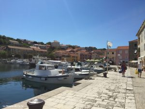El puerto de Dugi Otok