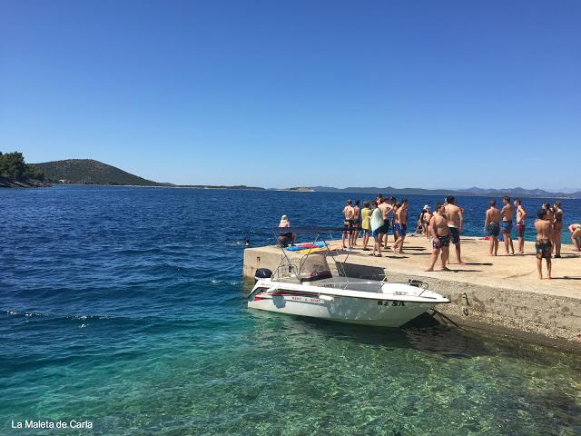 La 'playa' de Sali, en Dugi Otok