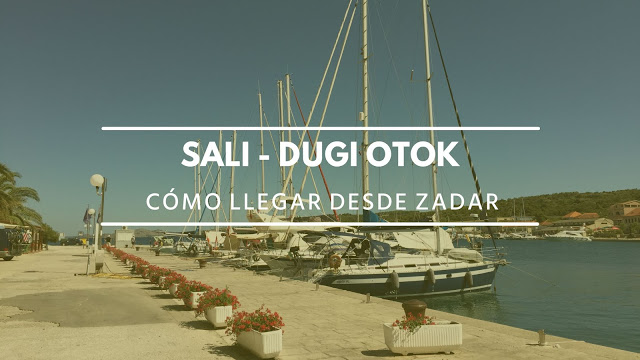Cómo ir de Zadar a Dugi Otok en ferry