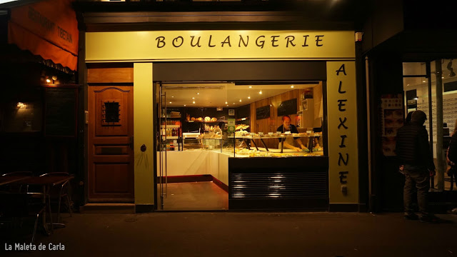 Las mejores pastelerías de París - Boulangerie Alexine