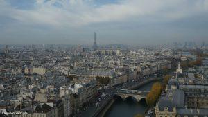 Las mejores vistas de París - La Torre Eiffel desde Notre Dame