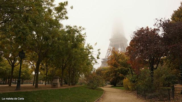 Las mejores vistas de París - La Torre Eiffel desde Champ du Mars