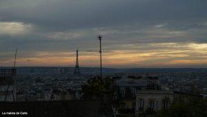 Las mejores vistas de París - La Torre Eiffel desde Montmartre