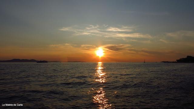 Guía de Croacia: Puesta de sol en Zadar