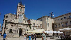 Guía de Zadar: Edificio de la guardia municipal