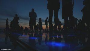 Guía de Croacia: Puesta de sol en el 'saludo al sol'