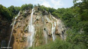 Las cascadas del Parque Nacional de Plitvice