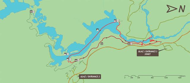Rutas en el Parque Nacional de los Lagos de Plitvice