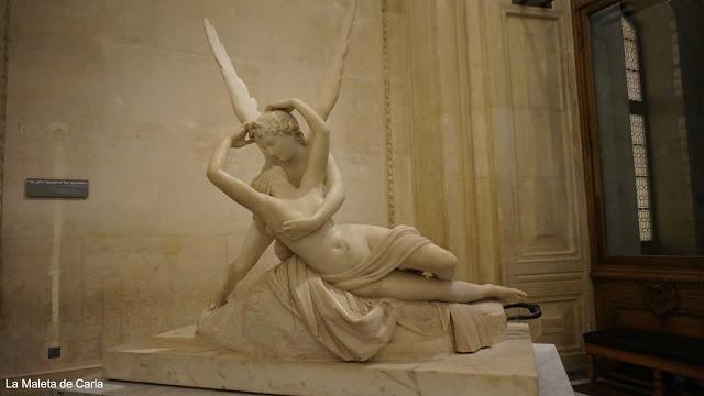 Escultura de Eros y Psique
