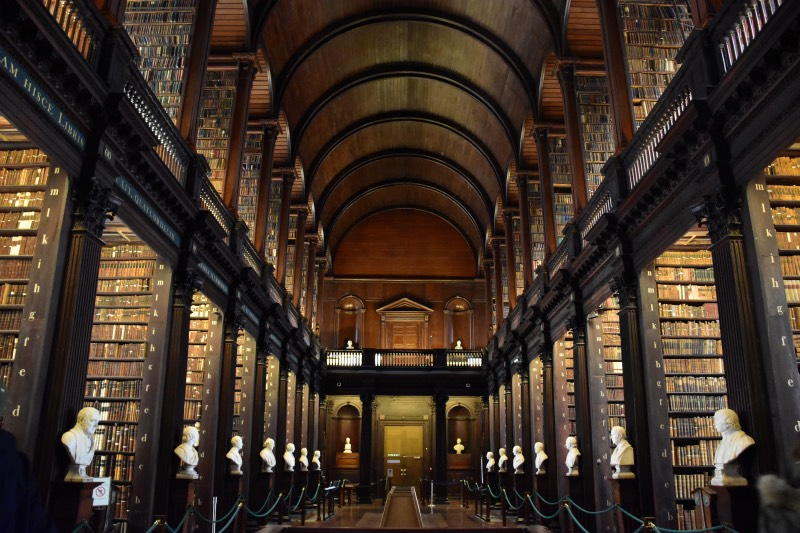 Dublín en 3 días: visitar la biblioteca del Trinity College