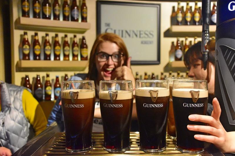 Qué hacer en Dublín: visitar la Guinness Storehouse
